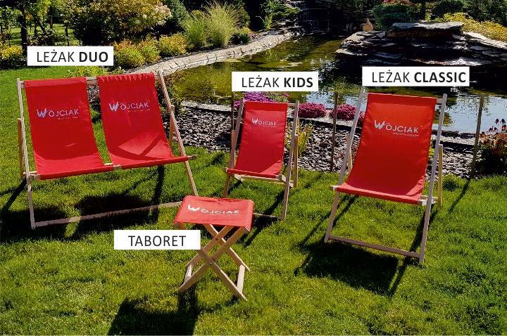 lezaki reklamowe dla dzieci i leżaki podwójne